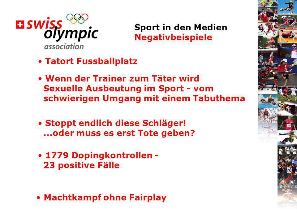 Sport in den Medien Negativbeispiele Tatort Fussballplatz Wenn der Trainer zum Täter wird Sexuelle Ausbeutung im Sport - vom schwierigen Umgang mit ei