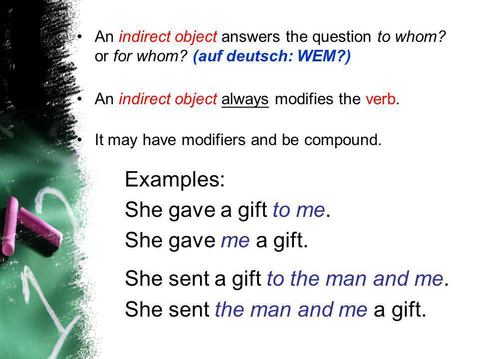 Dative Object Pronouns 1.__________ist kalt.