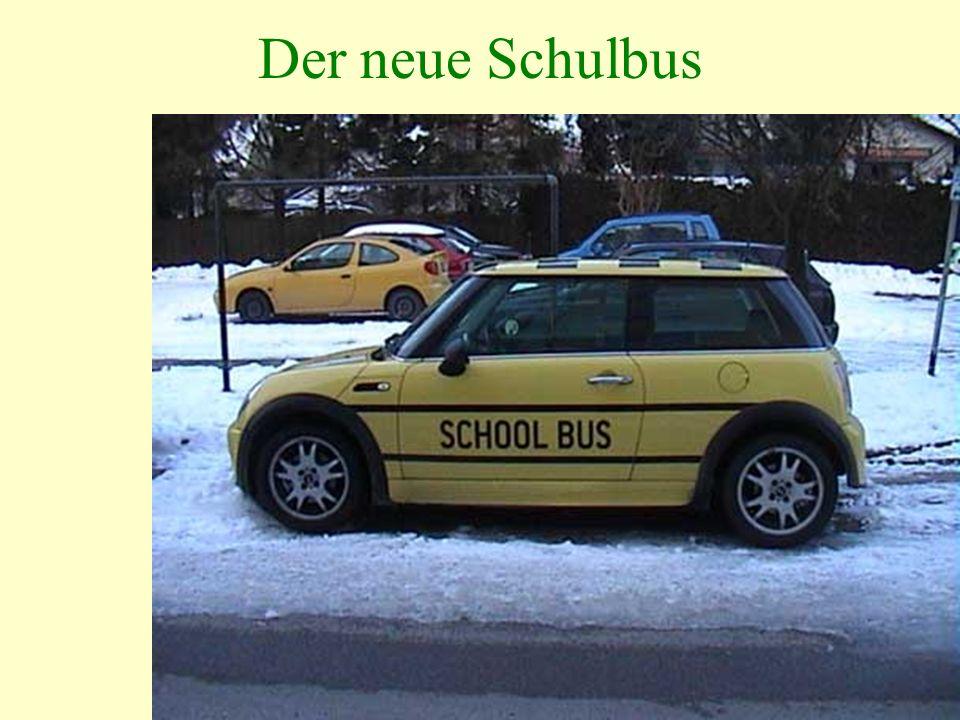 Der neue Schulbus