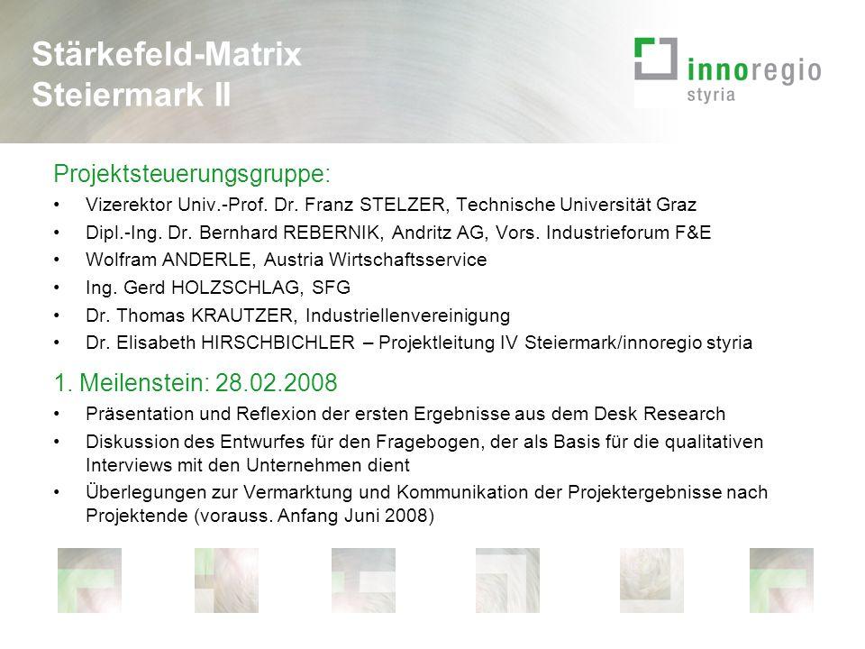Projektsteuerungsgruppe: Vizerektor Univ.-Prof. Dr.