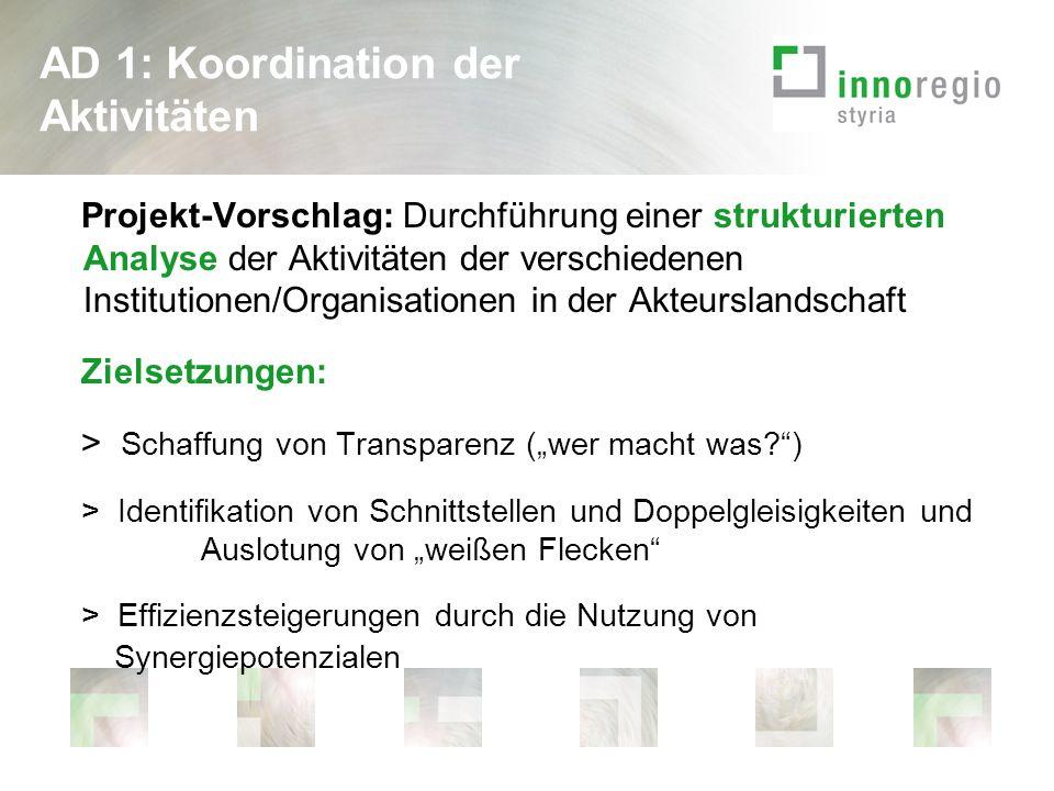Focus Group Von Kärntner Seite: - Dr.Reinhard Iro, Treibacher Industrie AG - Mag.