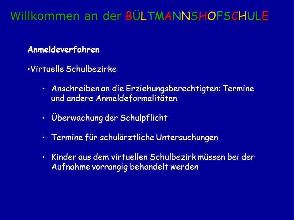 Anmeldetage in allen städt.Grundschulen Mittwoch, 10.11.