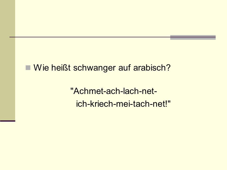 Wie heißt schwanger auf arabisch?