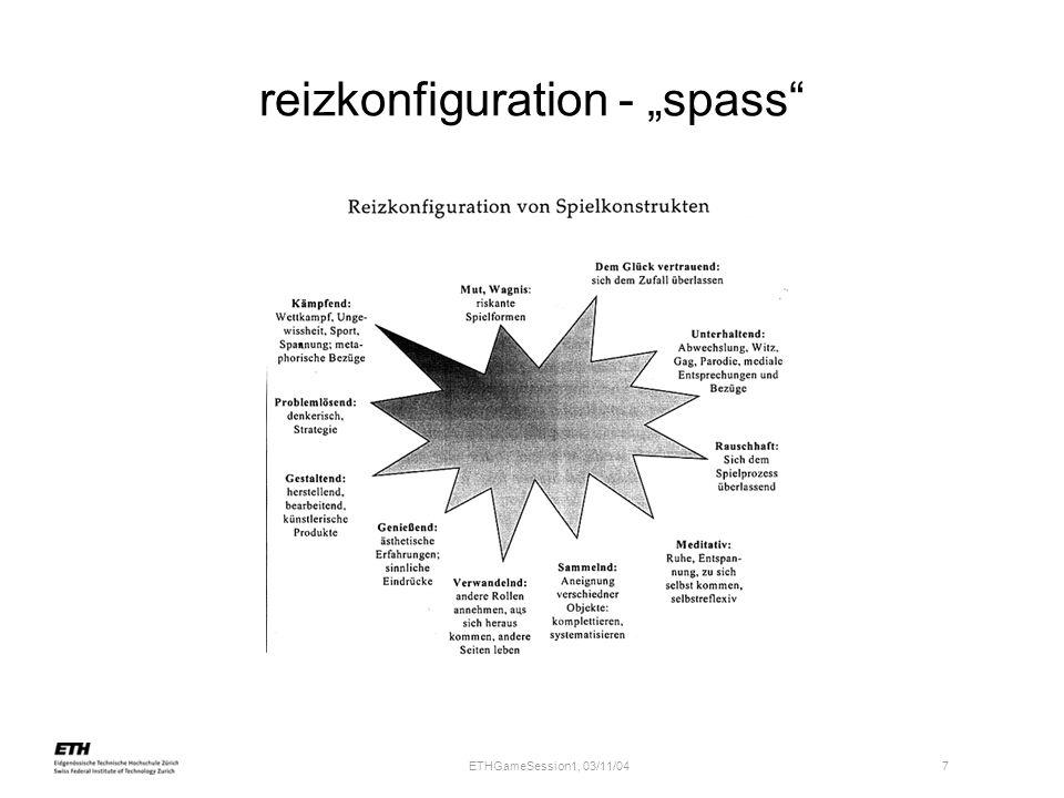 ETHGameSession1, 03/11/04 7 reizkonfiguration - spass