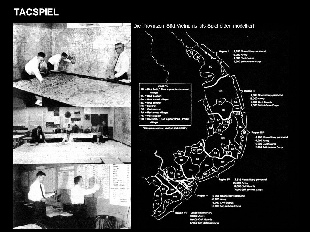 TACSPIEL Die Provinzen Süd-Vietnams als Spielfelder modelliert