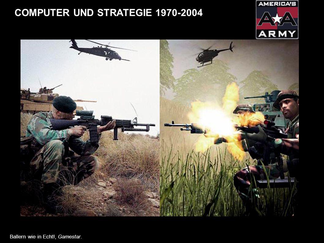 COMPUTER UND STRATEGIE 1970-2004 Ballern wie in Echt!, Gamestar.