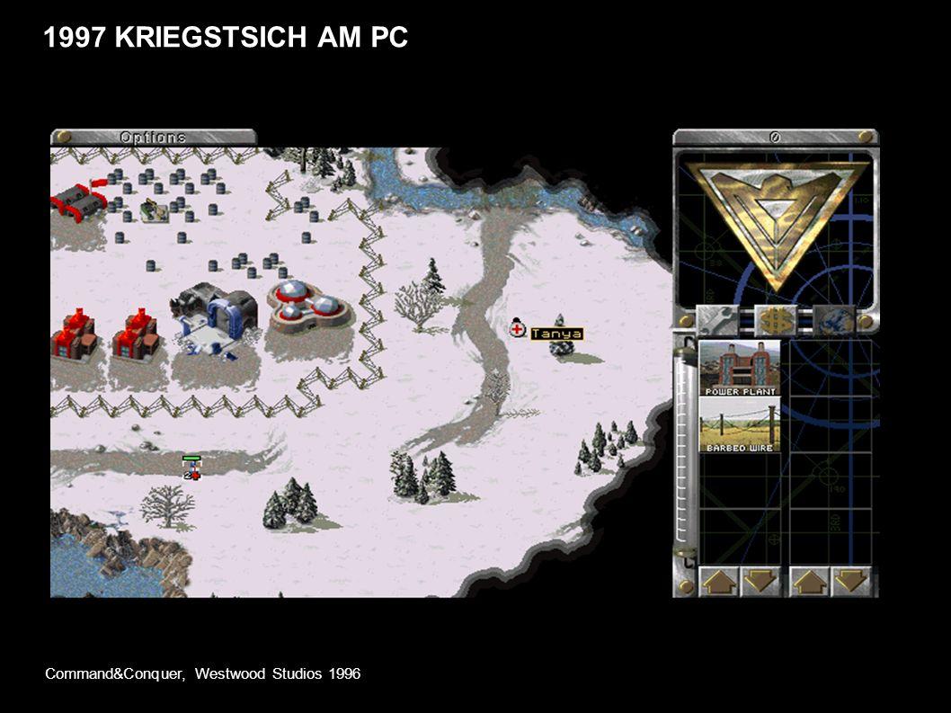1997 KRIEGSTSICH AM PC Command&Conquer, Westwood Studios 1996