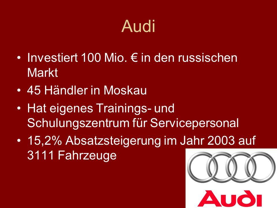 Audi Investiert 100 Mio.