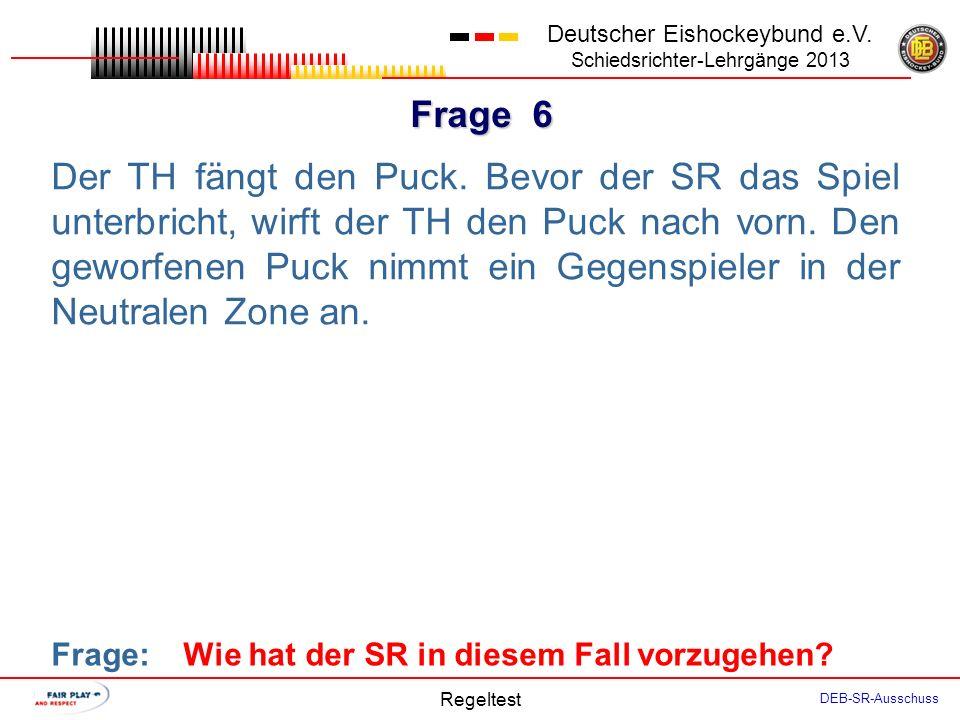 Frage 5 Deutscher Eishockeybund e.V.