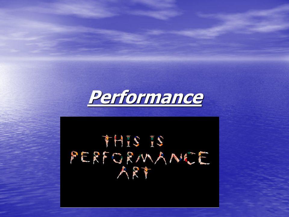 Was ist Performance.
