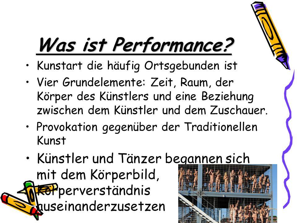 Woher stammt Performance.