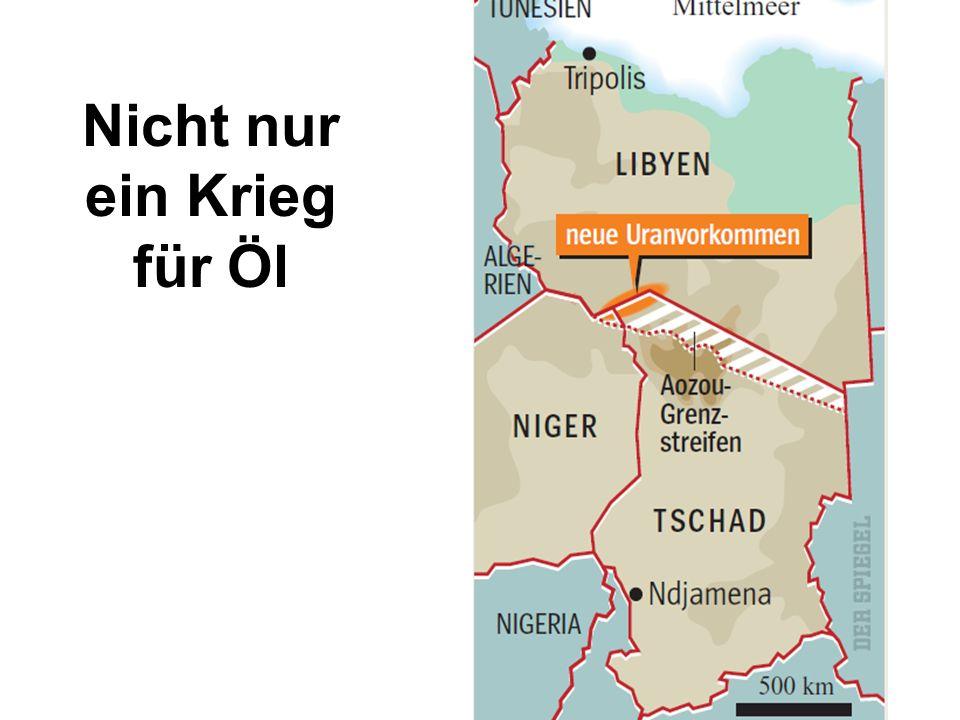 Nicht nur ein Krieg für Öl