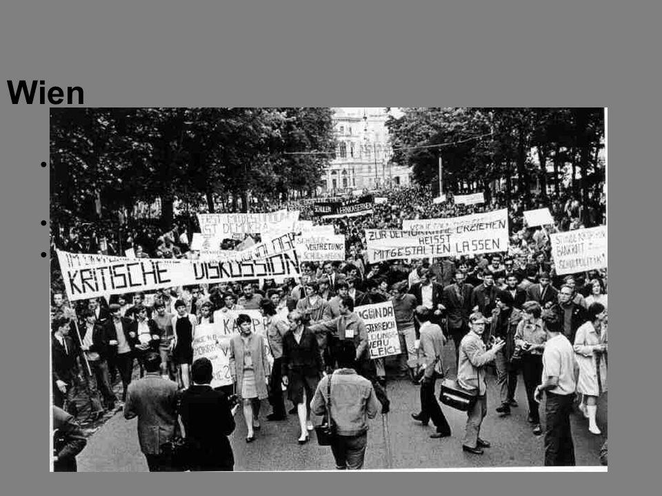 Reform der Hochschulen (bzgl. Schülerstipendien, Budget und Lehrstellen) wird gefordert Mao Tse-tung und Flowerpower waren Vorbilder 1970: Bruno Kreis