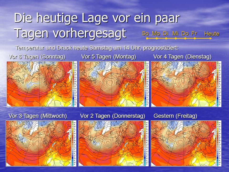 Starker Regen über Luzern am Donnerstag 6.