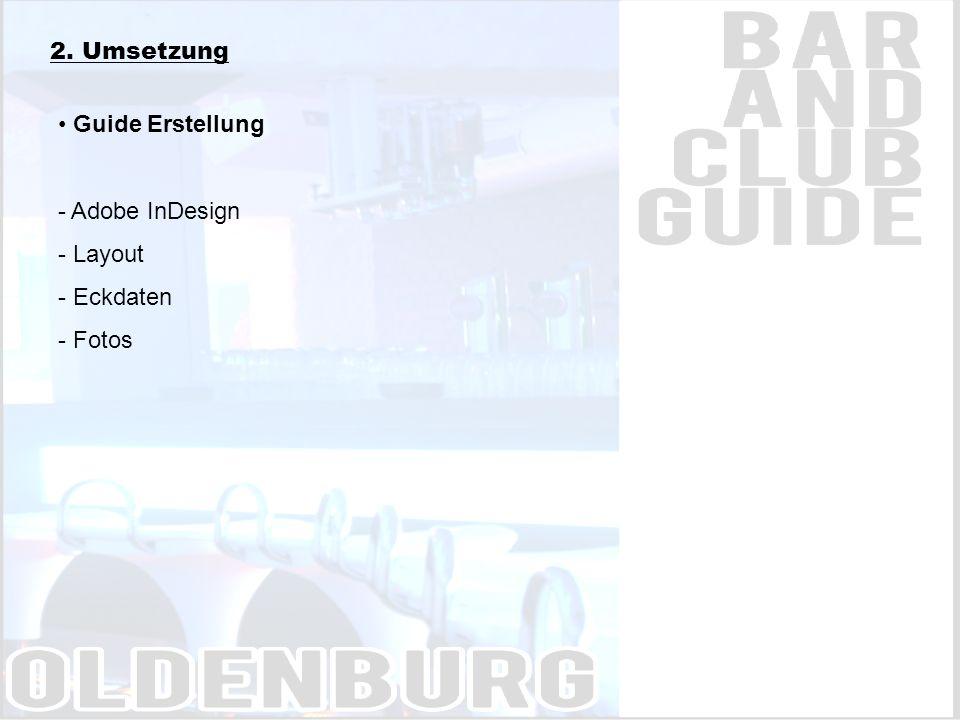 3. Bar & Club Guide / Beispielseiten