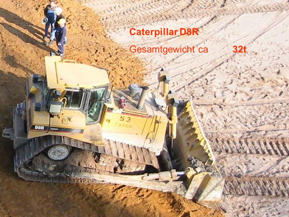Caterpillar D8R Gesamtgewicht ca 32t