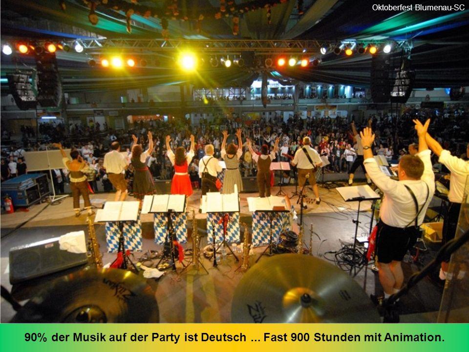 Dieses Bild wurde gegen 19 Uhr gemacht Oktoberfest Blumenau-SC