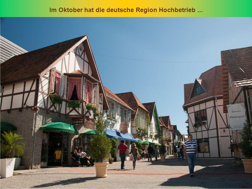 Im Oktober hat die deutsche Region Hochbetrieb...