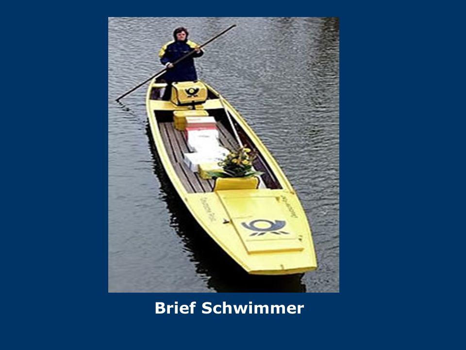 Brief Schwimmer