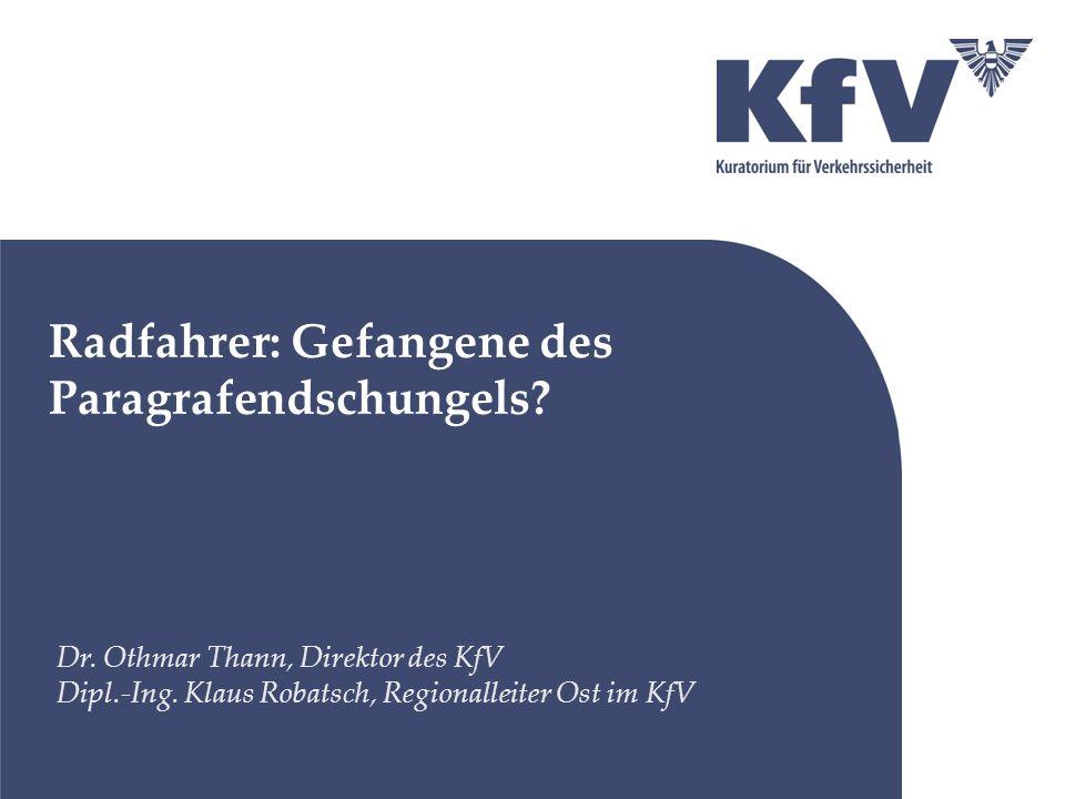 Problem: Benutzungspflicht (StVO) Änderungsvorschlag: Die Benutzungspflicht von Radwegen und gemischten Geh- und Radwegen im Ortsgebiet aufheben.