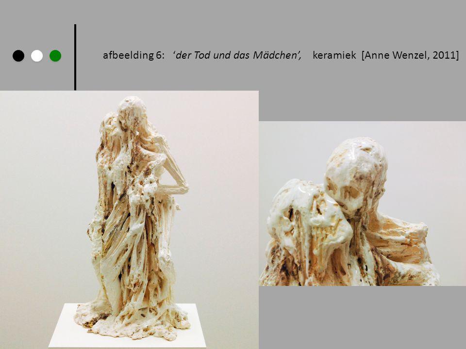 afbeelding 6: der Tod und das Mädchen, keramiek [Anne Wenzel, 2011]