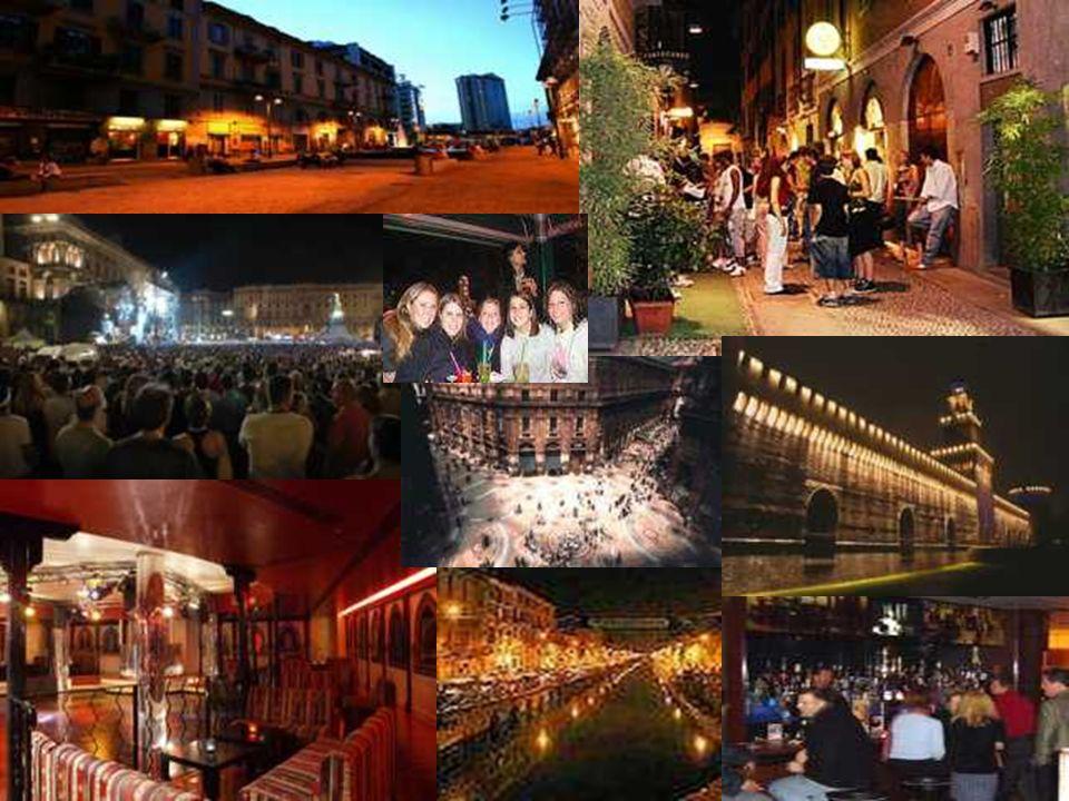 Mailand ist eine Großstadt und liegt in Norditalien.