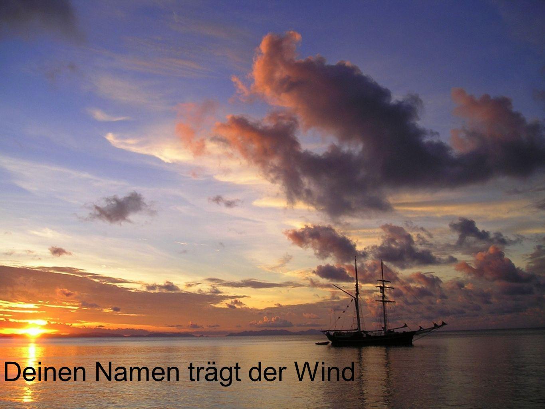 Deinen Namen trägt der Wind