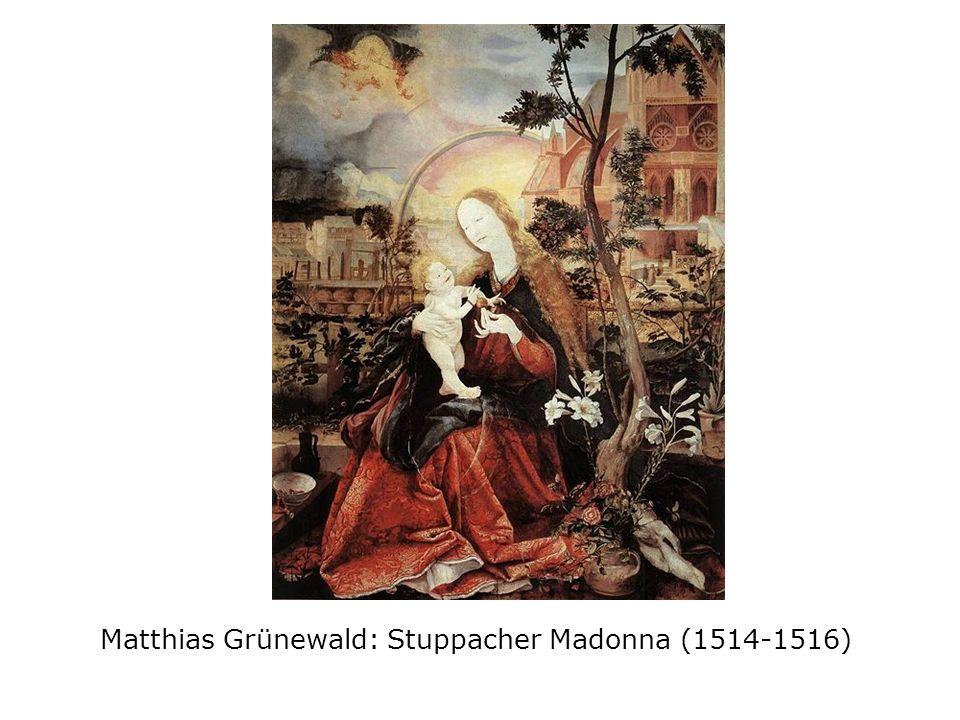 Matthias Grünewald: Stuppacher Madonna (1514-1516)