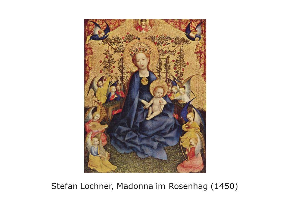 Stefan Lochner, Madonna im Rosenhag (1450)