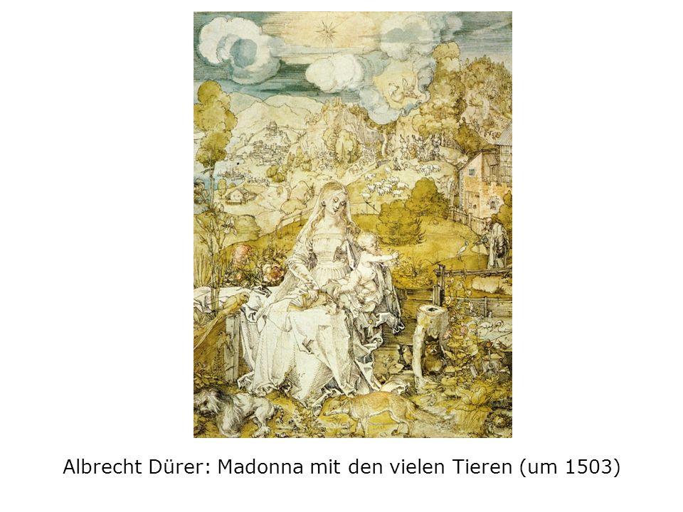 Albrecht Dürer: Madonna mit den vielen Tieren (um 1503)