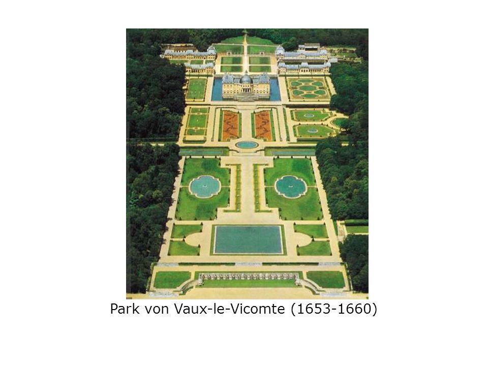 Park von Vaux-le-Vicomte (1653-1660)
