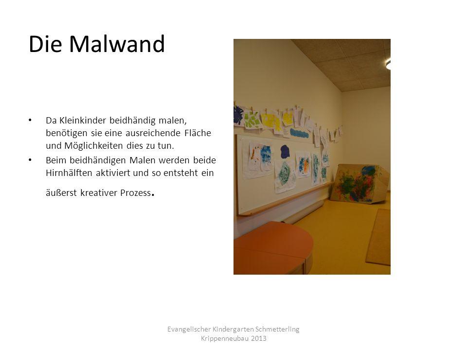 Die Malwand Da Kleinkinder beidhändig malen, benötigen sie eine ausreichende Fläche und Möglichkeiten dies zu tun. Beim beidhändigen Malen werden beid