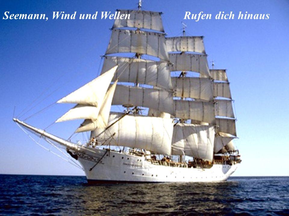Seemann, Wind und WellenRufen dich hinaus