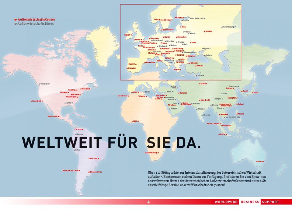 5 go-international Internationalisierungsoffensive Budget 31 Millionen Euro Fokus Fernmärkte & Dienstleistungen
