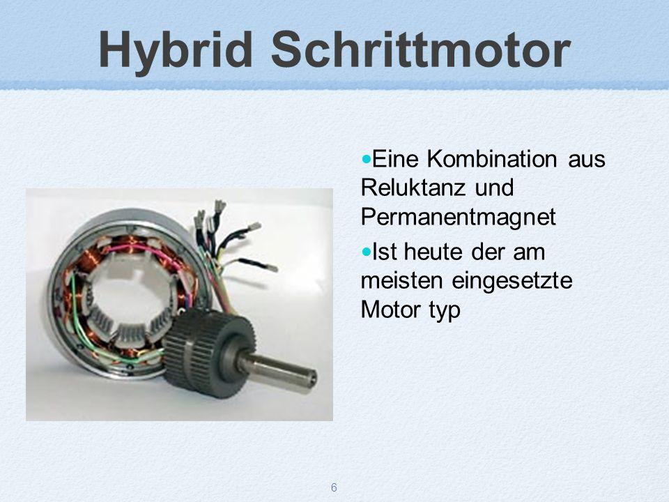7 Hybrid Schrittmotor