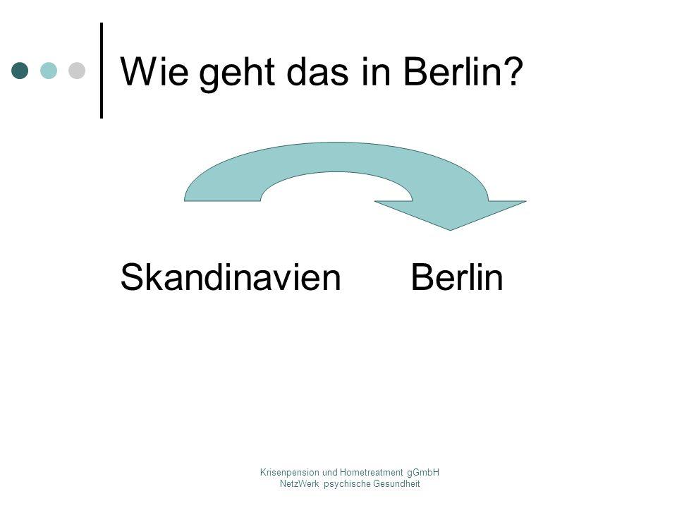 Krisenpension und Hometreatment gGmbH NetzWerk psychische Gesundheit Wie geht das in Berlin? SkandinavienBerlin