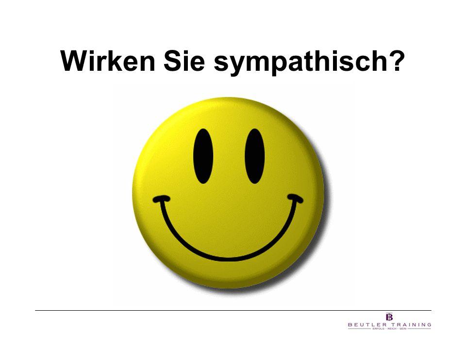 Sympathievermittlung des Sprechers Inhalt7% Mimik, Gestik55% Stimme38% Körpersprache dominiert mit 93% (nach P.H.