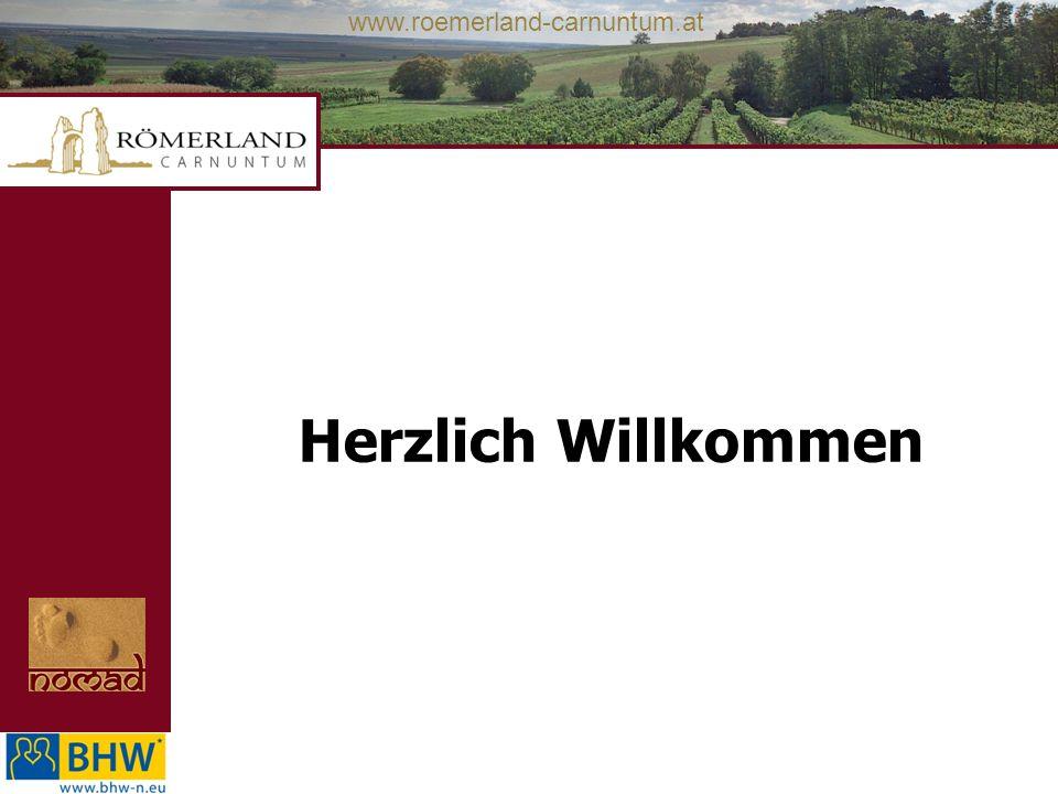 www.roemerland-carnuntum.at Herzlich Willkommen