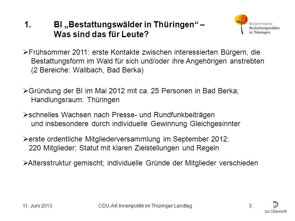 zur Übersicht 11.Juni 2013CDU-AK Innenpolitik im Thüringer Landtag4 1.