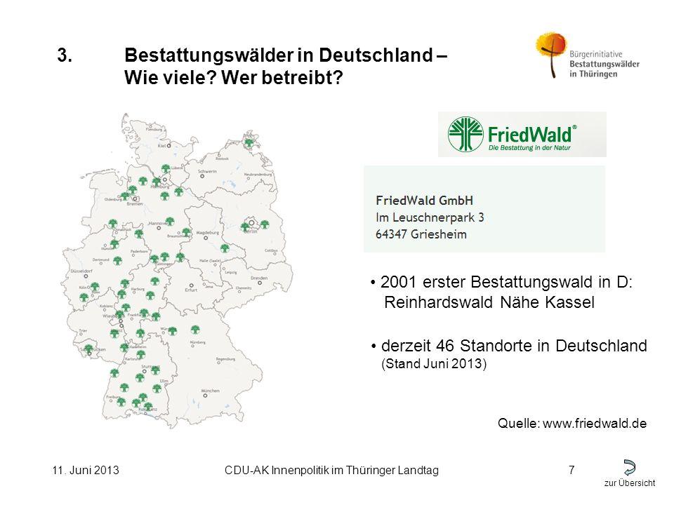 zur Übersicht 11. Juni 2013CDU-AK Innenpolitik im Thüringer Landtag7 3.