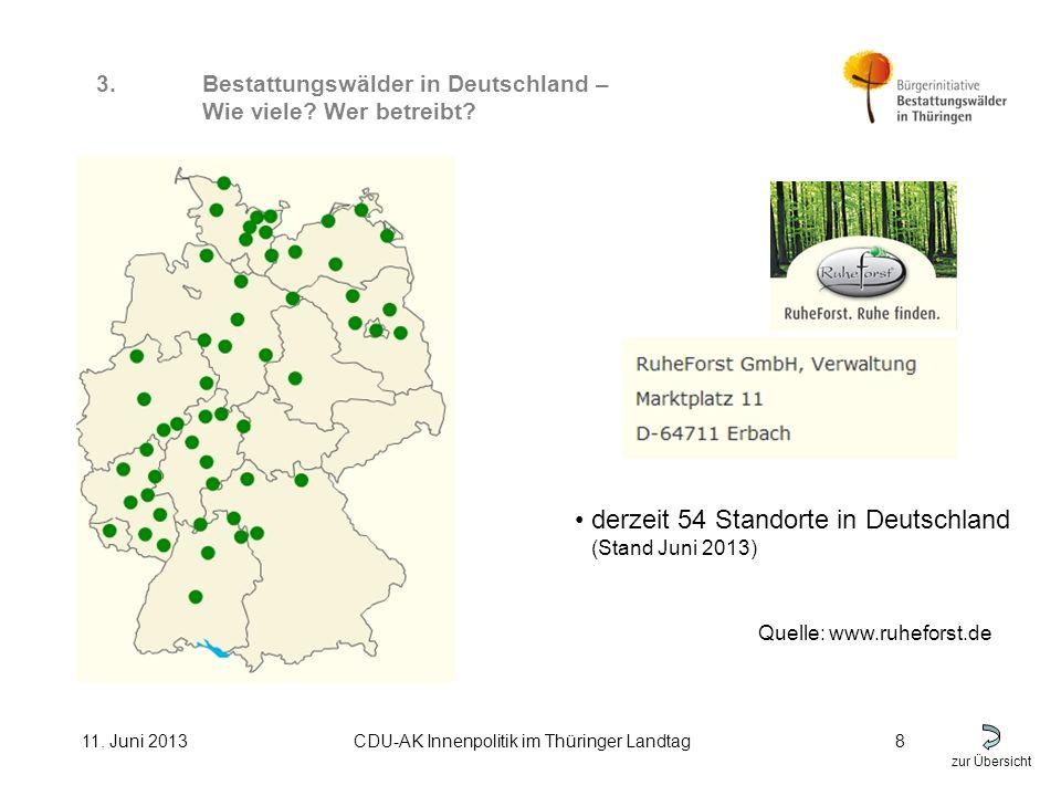 zur Übersicht 11. Juni 2013CDU-AK Innenpolitik im Thüringer Landtag8 3.