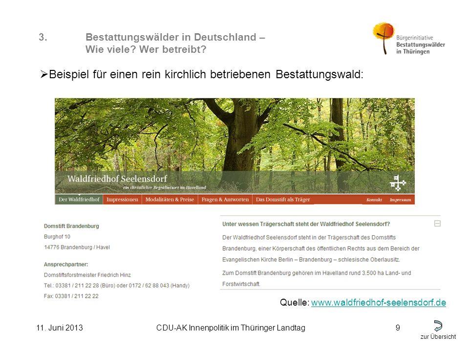 zur Übersicht 11. Juni 2013CDU-AK Innenpolitik im Thüringer Landtag9 3.