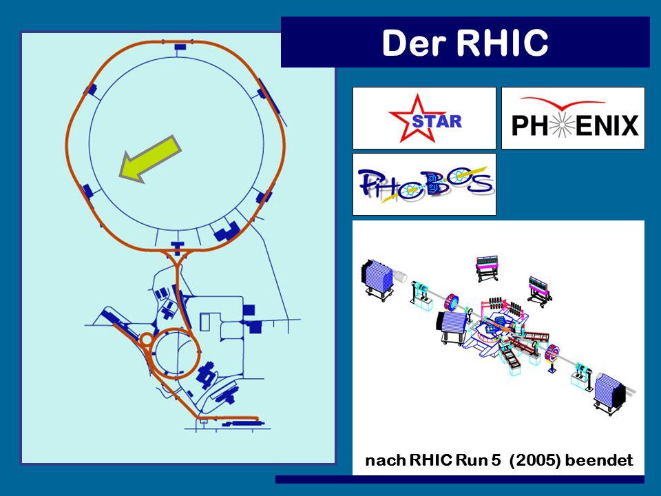 nach RHIC Run 5 (2005) beendet
