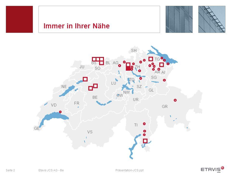 Seite 33Etavis JCS AG - BePräsentation-JCS.ppt Rheinsalinen Bohrfelderstatistik mit InSQL