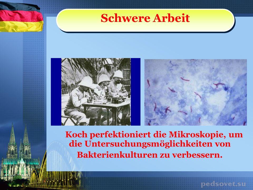 Reisen-Expedition Kochs Lebensjahre gehörten dem Studium tropischer Infektionskrankheiten.