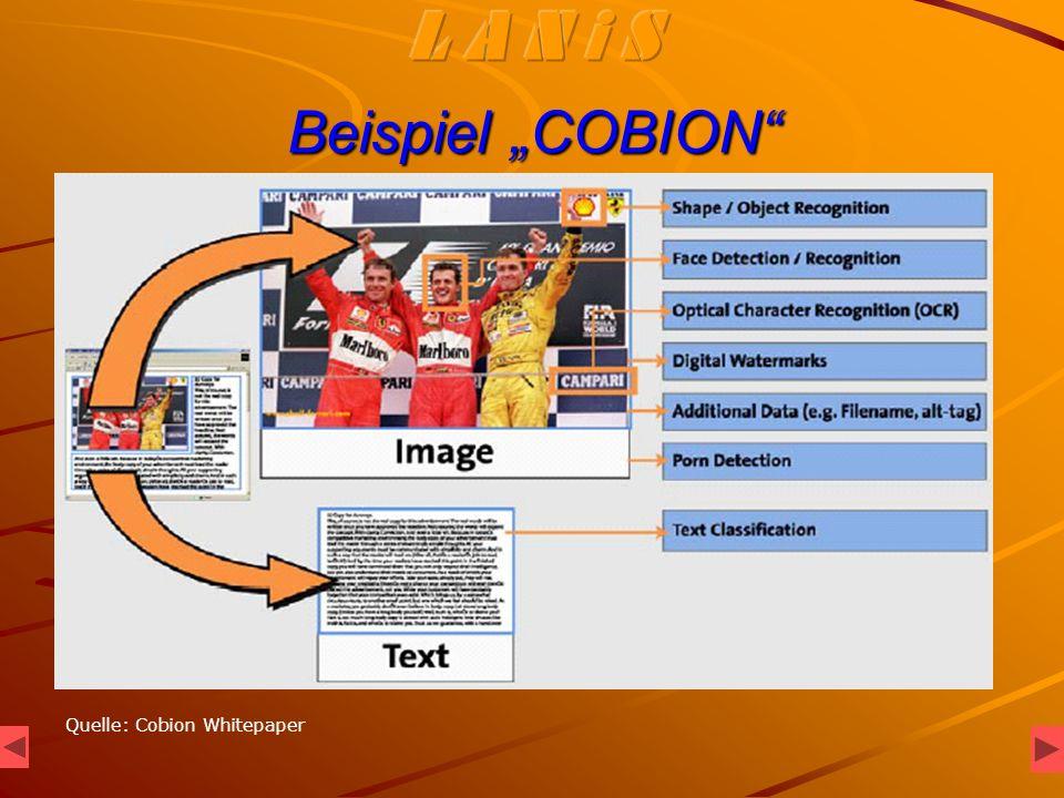 Beispiel COBION Quelle: Cobion Whitepaper