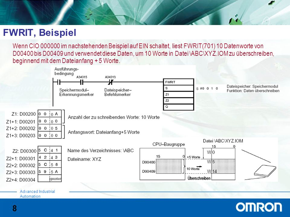 9 Advanced Industrial Automation Relevante AR-Bits (1)