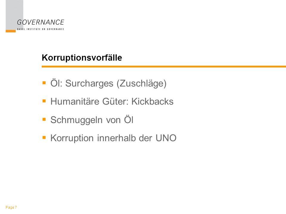 Page 18 Korruption innerhalb der UNO Boutros Boutros-Ghali Kofi Annan und Kojo Annan Benon Sevan