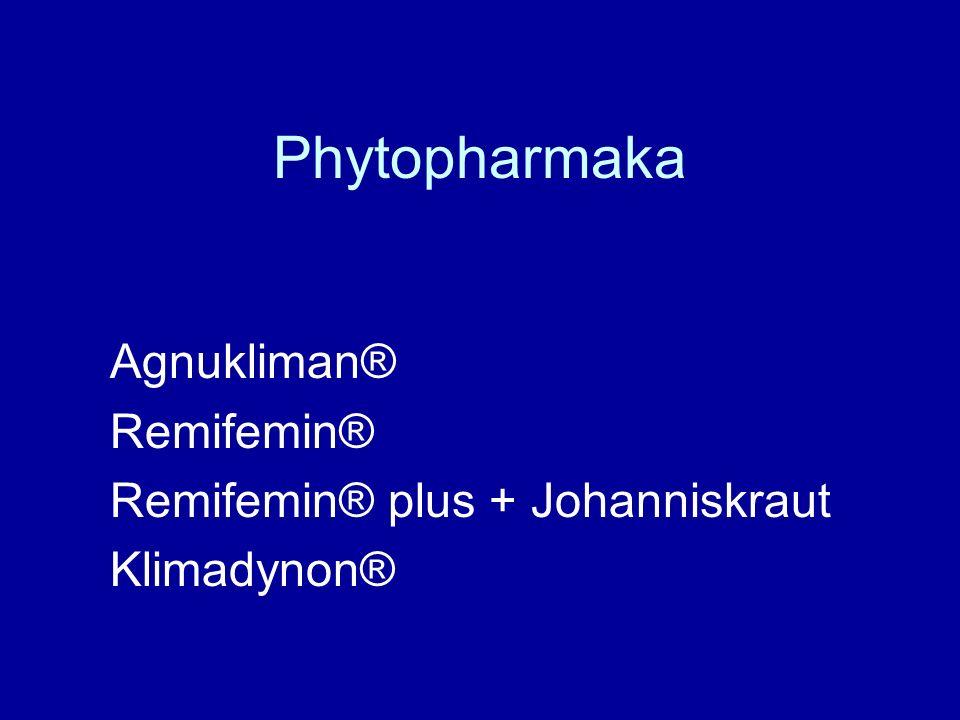 Phytopharmaka Agnukliman® Remifemin® Remifemin® plus + Johanniskraut Klimadynon®