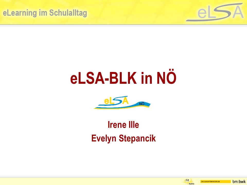 eLSA-BLK in NÖ Irene Ille Evelyn Stepancik